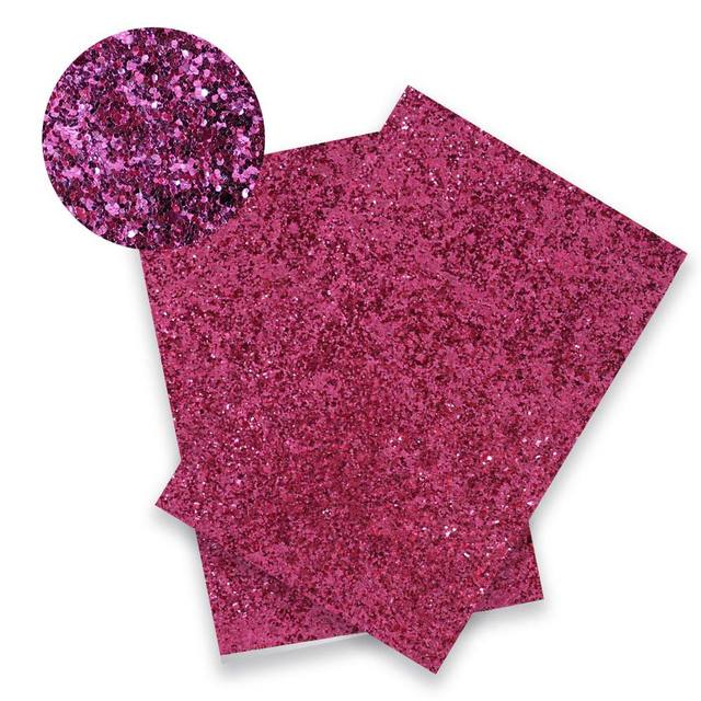 22*30CM Solid Color Glitter Fabric Apparel Sewing Accessories Garment Decorative Sewing Material Wedding Party Decoration 5