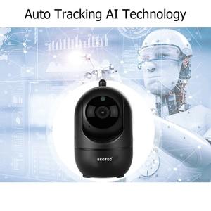 Image 4 - INQMEGA caméra intelligente sans fil HD 1080, vidéosurveillance, suivi automatique de sécurité à domicile, réseau Wifi, caméra intelligente