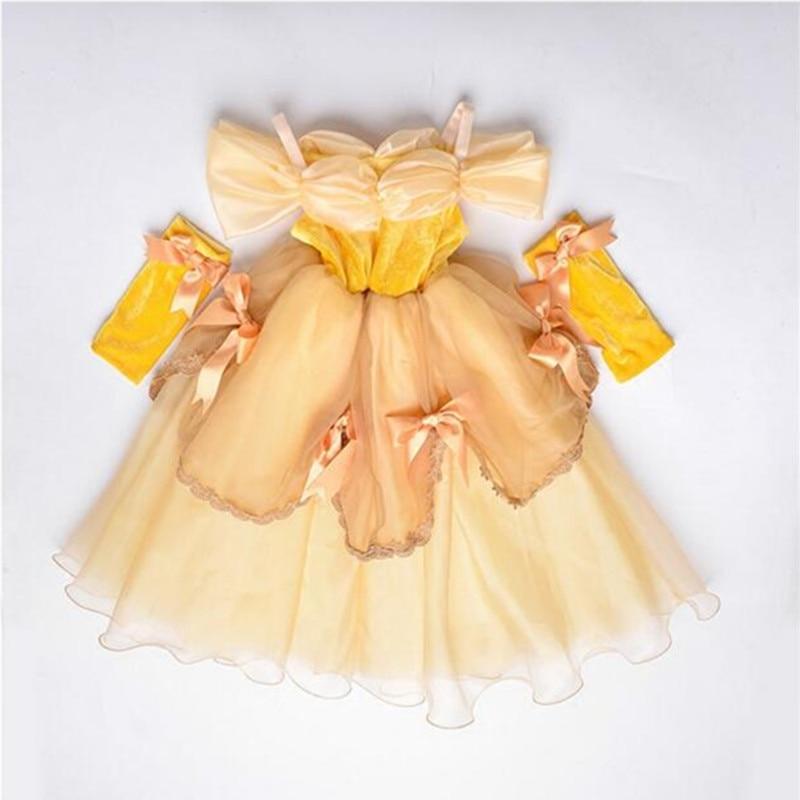 Dropwow Kids Dresses for Girls Snow White Princess Costumes Girl ... 79493fac0075