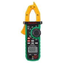 Mastech MS2109A Автоматический диапазон цифровой AC DC токовые клещи мультиметр Гц темп Емкость тестер с NCV детектор