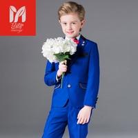 Miaoyichildren's комплекты одежды для отдыха для маленьких детей костюмы для мальчиков Пиджаки для женщин жилет праздничная одежда джентльмена дл