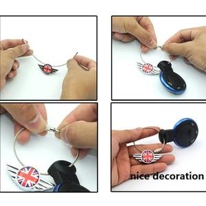 Image 5 - 1 st Rvs Sleutelhanger Sleutelhanger Sleutelhanger Sleutelhanger Voor Mini Cooper JCW Een S Clubman Countryman R55 R56 r60 R61 F55 F56 F60
