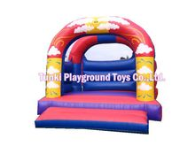 most popular design mini inflatable font b bouncer b font castle