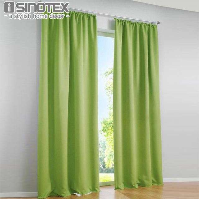 elegance gordijn blackout blinds panel polyester geweven home decor woonkamer geluid absorberende warmte