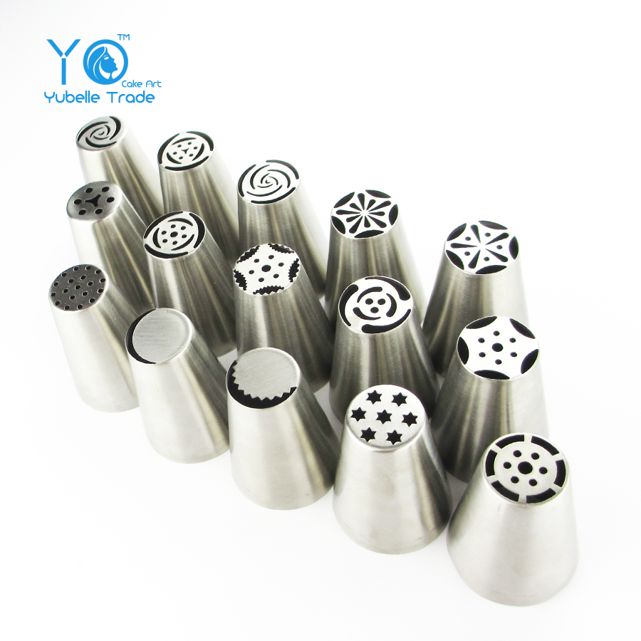 Medium Size Russian Tulip Icing Piping Nozzles Perfect For