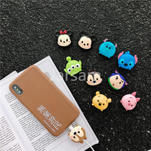 Cartoon Cable Protector Data Wire Cover for iPhone USB Charging 8