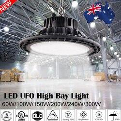 УФО СИД светильники для высоких промышленных помещений 100 W 150 W 200 W Водонепроницаемый IP65 промышленное освещение для склада в гараж или масте...