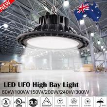 UFO Led High Bay Lights 100W 150W 200W Waterproof IP65 Industrial Lighting Warehouse Garage Workshop highbay led цены