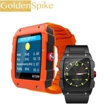 Esporte V18 gerenciamento de Arquivos de Suporte GPS Smartwatch Pedômetro monitor de Sono lembrete Sedentário Relógio Inteligente para IOS e Android