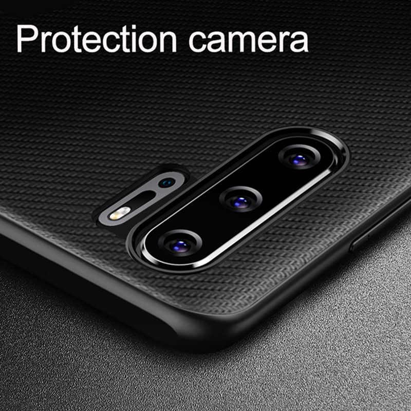 Чехол для HUAWEI P30 Pro, Оригинальный чехол из углеродного волокна, искусственная кожа, полная защита, задняя крышка для HUAWEI P20 P30 Lite, чехол для телефона, Funda
