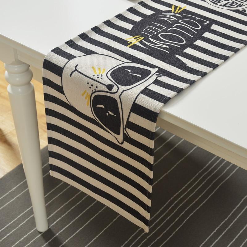 Мультфильм Cool Cat хлопок льняной скатерти ТВ кабинет флаг журнальный столик мат скатерть крышка полотенце