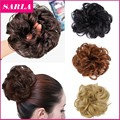 1PC Synthetic Hair Chignon Elastic Scrunchie Extensions Hairpiece Donunt Buns Hair Bundles Updo Hairpieces Hair Bun Extension