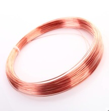 20meters/lot  Diameter:0.2mm Copper wire red conductive copper