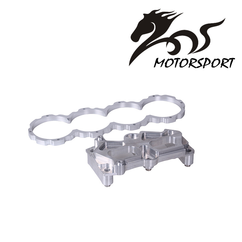 ENGINE MOTOR MOUNT BLOCK GIRDLE VTEC Girdle w Dowel Pins Block Guard VTEC Conversion For Honda