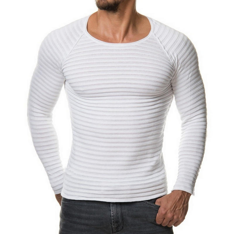 2017 New Fashion Winter Men Pullover Knitted Sweater High Quality Warm Sweaters Male Long Sleeve Plus Size Top Hombre