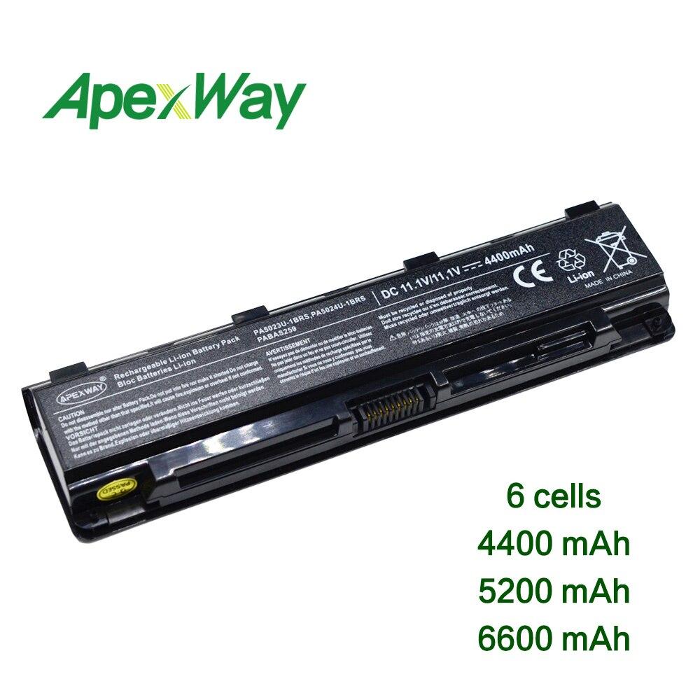 11.1 V Laptop Batterij Voor Toshiba Pa5023u-1brs Pa5024u-1brs Pa5025u-1brs Pa5026u-1brs Pa5027u-1brs Pabas260 Pabas262 Pabas263