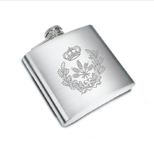Personalized Hip Flasks gift set for Alcohol portable outdoor flask custom FREE with your company logo/name/website DHL shipping s262dc c20 6pcs set with free dhl