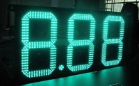 12 inch 8 889 led fuel price sign display for gas stations new electronics gas station