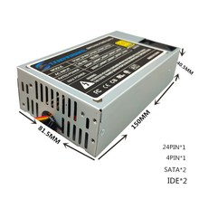 250W ITX Power SERVER POWER SUPPLY 250W 1U Flex ATX PSU 1U server power 24pin 12V PC Computer Power Supply Computer PC CPU dps 300bb 1c 220w original server power supply