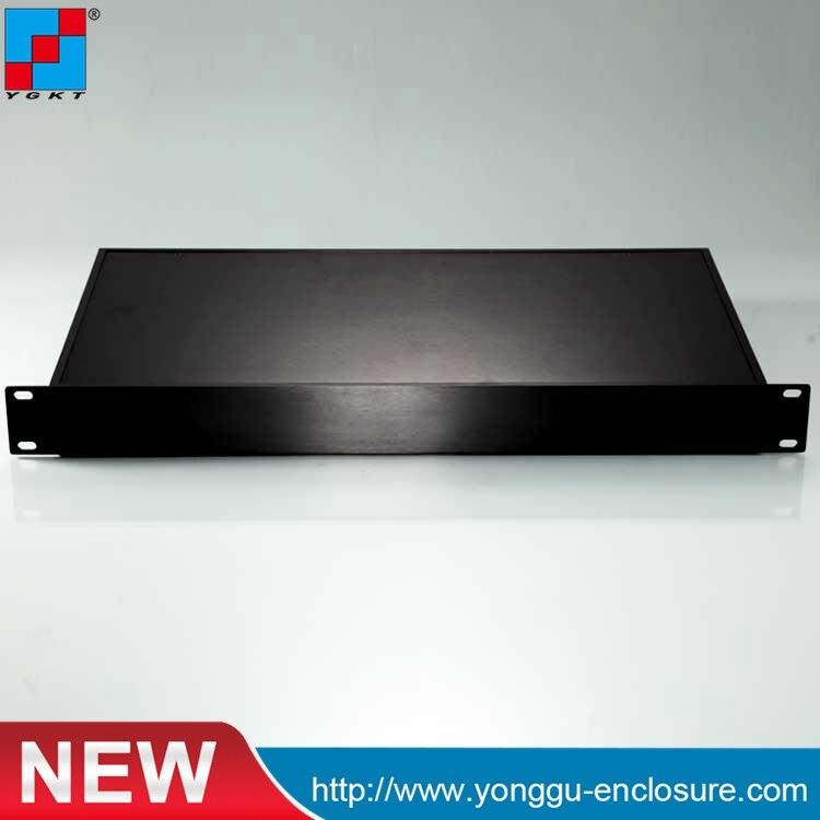 19 Zoll Rack Gehäuse Server Schränke Racks Diy Custom Aluminium Gehäuse Wand Halterung Rack Chassis 482*44,5-250mm 1u