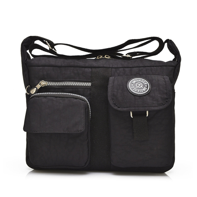 75b269f6531 Fashion Women Messenger Bags Handbag Waterproof Nylon Shoulder Bag  Crossbody Bags For Women Casual Tote Style