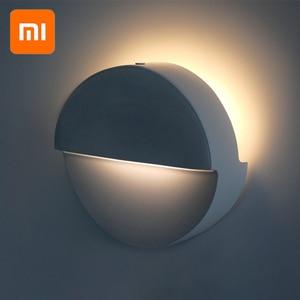 Image 1 - Xiao mi mi jia Philips Bluetooth Luce Di Notte di Induzione del LED corridoio LAMPADA Di Notte a Raggi Infrarossi A Distanza Di Controllo del Sensore Del Corpo Per mi casa APP