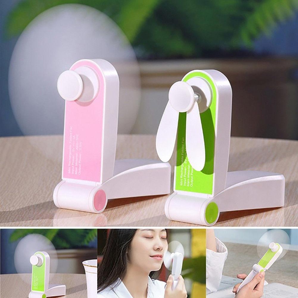 Nuova Ventola Di Raffreddamento Regolabile Mini Portatile A Mano Ventole 500 mAh Ricaricabile Portatile Micro USB Desk Ventola di Raffreddamento Ad Aria 19MAY14