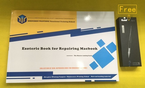 Macbook Repair Book highlights for repairng apple computer