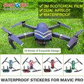 Sunnylife 3M Stickers Waterproof Skin Decals Battery Remote Controller Stickers for DJI MAVIC PRO