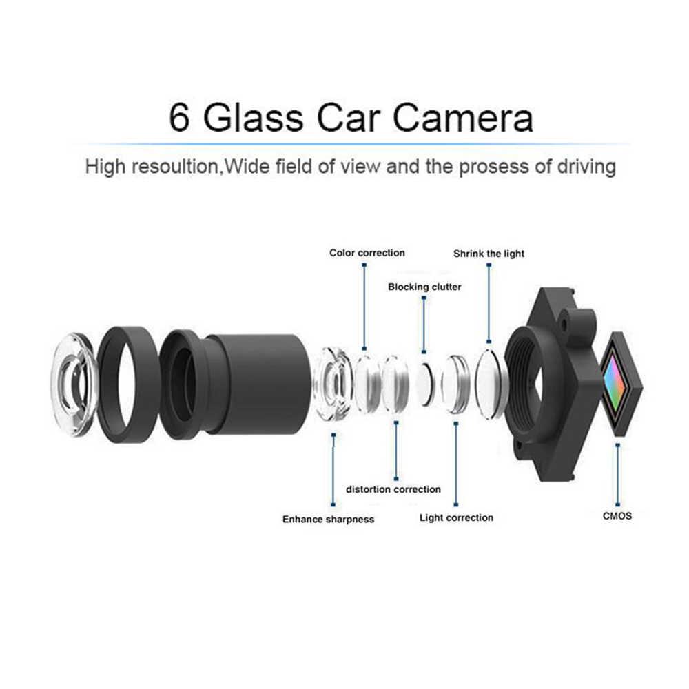 4.3 بوصة جهاز تسجيل فيديو رقمي للسيارات مرآة سيارة كاميرا DVR HD 1080 P الرؤية الخلفية مرآة الرقمية مسجل فيديو عدسة مزدوجة السيارات داش كاميرا