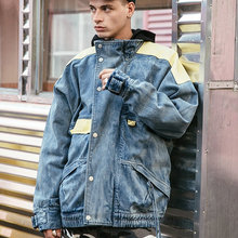VIISHOW Streetwear Denim Jackets Clothing Male Cowboy Coats Outerwear 2018 Hip Hop