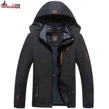 Plus rozmiar 6XL 7XL 8XL męska wodoodporna kurtka wiosna jesień wiatroszczelna deszcz płaszcz znosić turystyka kurtka górska mężczyzn odzież