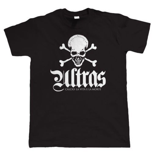 Ultras Life and Death, Mens Footballer Casuals T Shirt 2018 New Fashion T Shirt Men Cotton