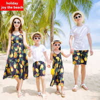 Family Clothing Family Matching Clothes Mother And Daughter Matching Dresses Holiday Style Joy The Beach