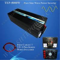 Ветер солнечной системы синуса Pure волна от сети постоянного тока, переменного тока дома инвертор 12 В 220 В 5000 Вт