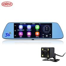 Otstrive 7 inch 3G Car GPS Navigation Android 5.0 WiFi Bluetooth Dual Lens DVR Rear View Camera 1G RAM Dash Camera Mirror GPS