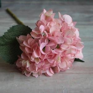 Image 2 - Fashion Artificial Hydrangea Flower Silk Cloth Plastic Wedding Supplies DIY Home Decoration For Birthday Party Festival Gift