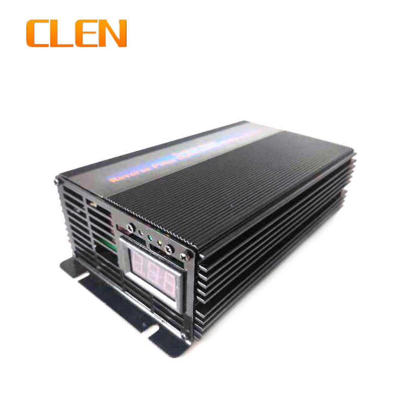 CLEN 12V 5A 10A 15A Car Battery Charger Voltage Switchable Battery Charger Intelligent Reverse Pulse Charging in Chargers from Consumer Electronics