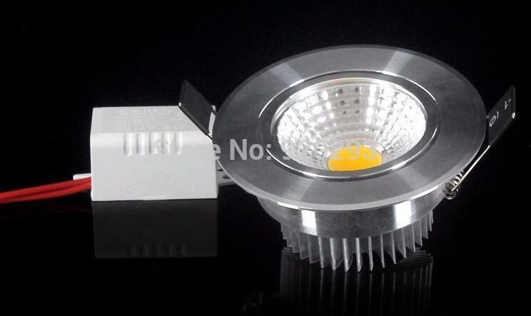 Super Bright 1 stk. Dimmable Led Downlight Light COB Loft ac110-220v - Indendørs belysning - Foto 3