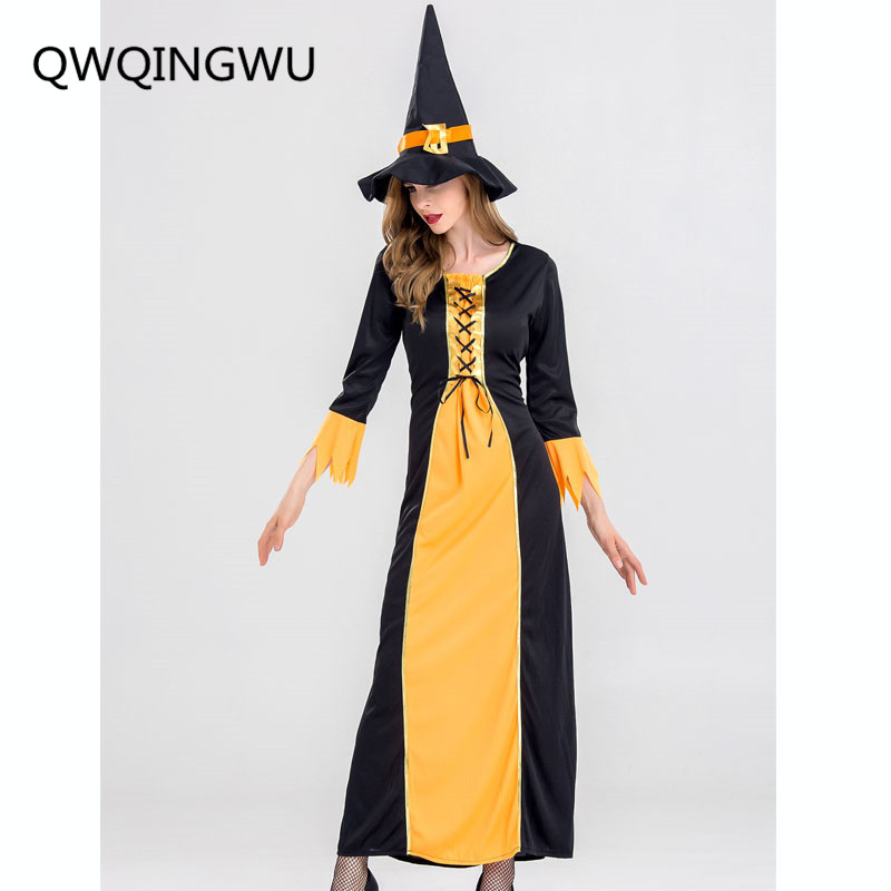 Halloween Scary Vampire Cosplay Costumes Hoodie Witch Costume Grim Reaper Women Long Dress Cosplay Clothes Halloween Costumes
