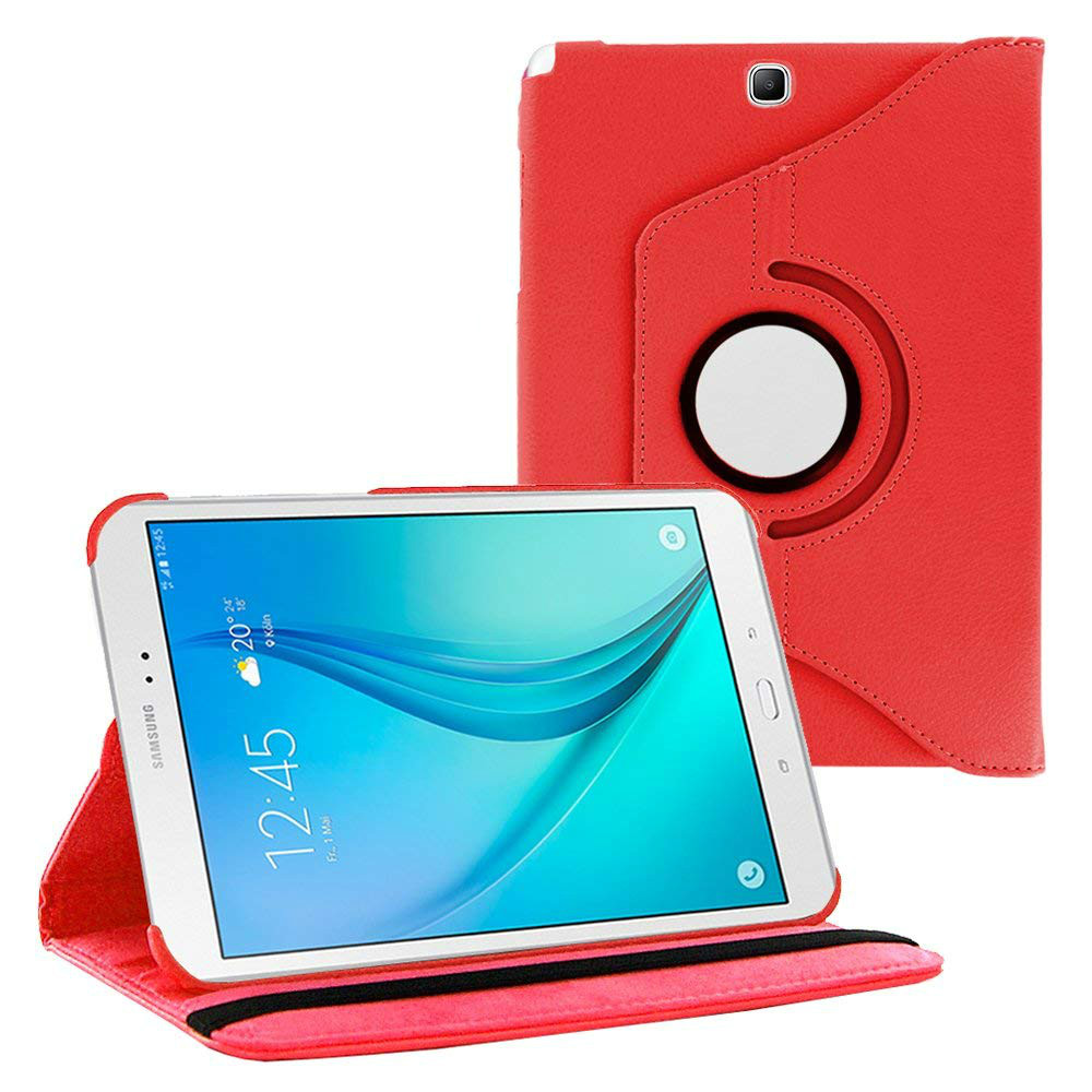 For Samsung Galaxy Tab A 9.7 T550 T555 PU Leather 360 Rotating Stand Case Cover For Galaxy Tab A 9.7Inch Case Capa