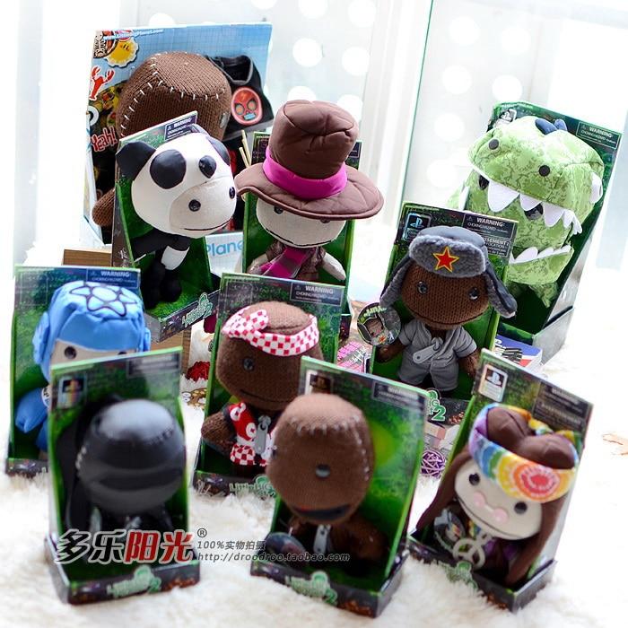 Little Big Boys Toys : Senario little big planet sackboy plush toy doll in