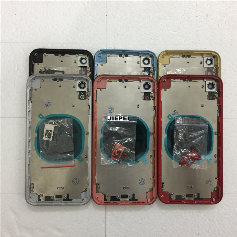 JIEPEI Battery-Cover Back-Housing Housing-Case-Assembly Side-Buttons Door Middle-Frame