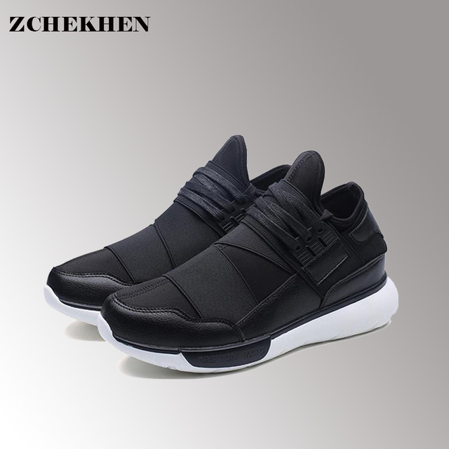 2018 de marche En Plein Air Maille Mocassins Mâle Respirant blanc chaussures  Lace Up Mode Zapatillas 4a918ba6435c
