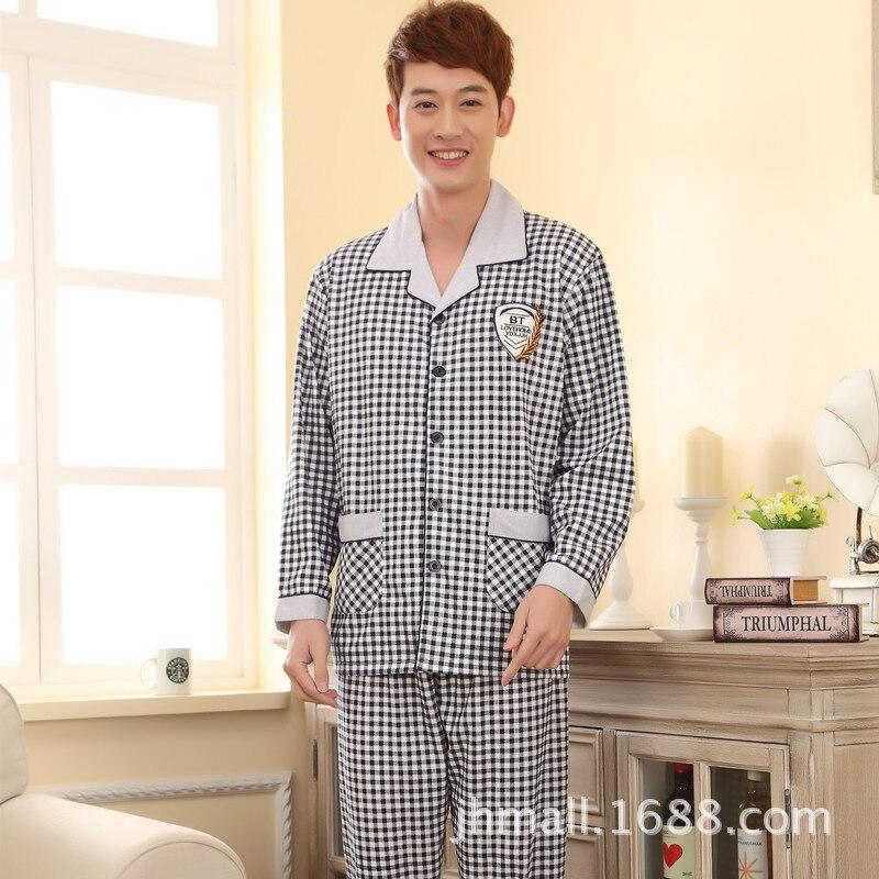 2016 Albornoz Infantil Associating Beauty Sleep Pajamas Mens Age Season Long Sleeve Leisurewear And Comfortable Leisure Cotton