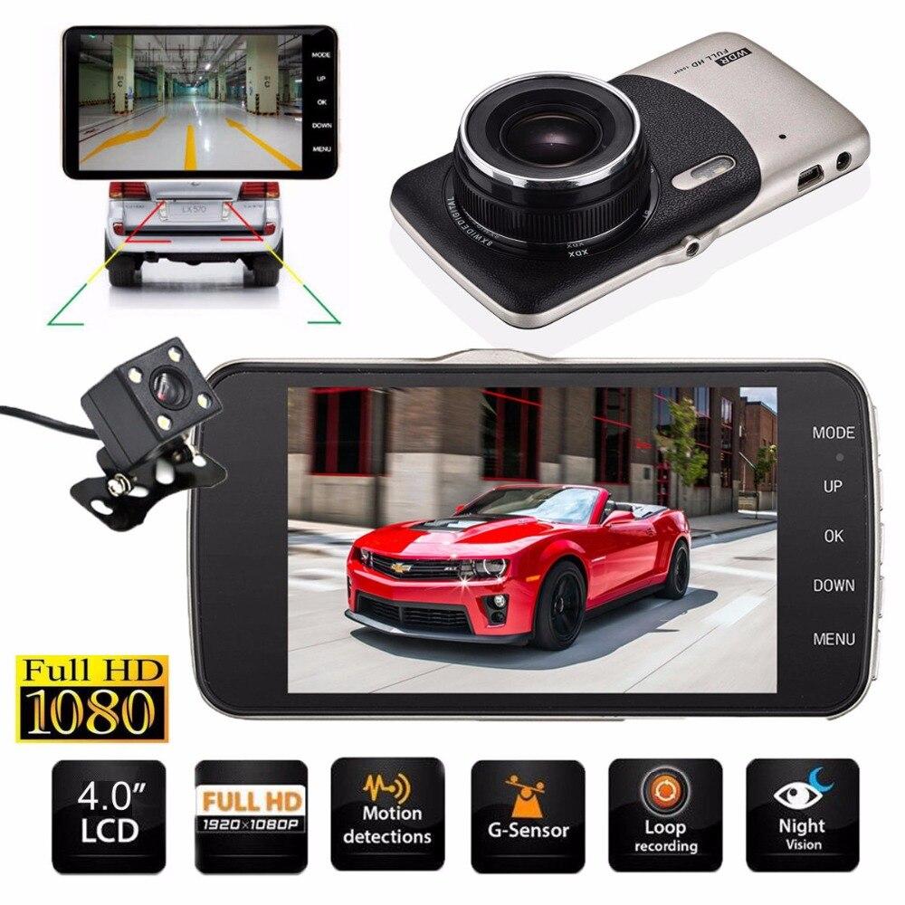 4 mini car dvr dual lens video recorder parking car. Black Bedroom Furniture Sets. Home Design Ideas