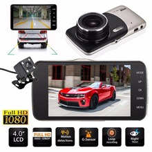 4 Mini Car DVR Dual Lens Video Recorder Parking Car font b Camera b font Night