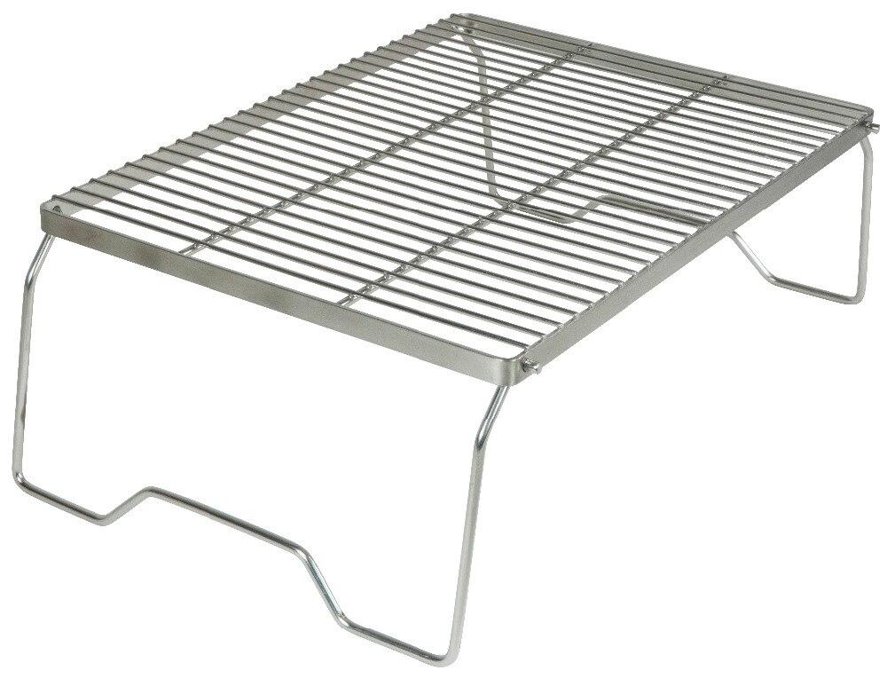 AceCamp acier inoxydable barbecue Grill Stand extérieur Camping pique-nique pliant Premium Portable vaisselle livraison gratuite