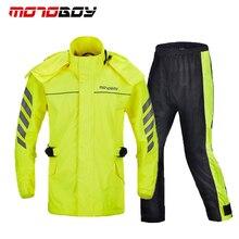 цена на Cycling Motorcycle Rain Sets Coats off-road Racing Reflective Rain Suits Jackets Pants Hiking Climbing Raincoat Clothing Suits