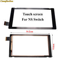 ChengHaoRan-lente frontal exterior LCD para Digitalizador de pantalla táctil, pieza de repuesto para Switch NS LCD para Digitalizador de pantalla táctil, 10 Uds.